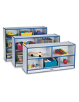 Mobile Storage Shelves with Write-n-Wipe Back