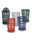 Expanded Steel Street Waste Baskets